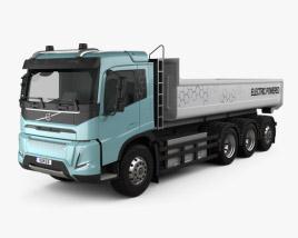 Volvo Electric Tipper Truck 2019 3D model