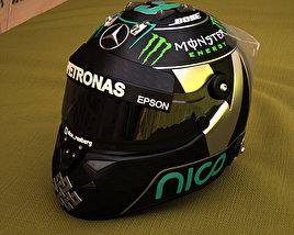 F1 Helmet 3D model