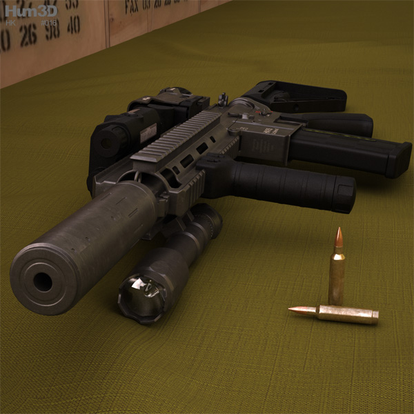 Heckler & Koch 3D Models Download