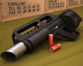 Pancor Jackhammer 3D model