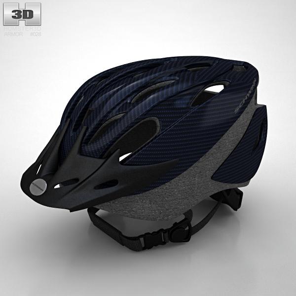 Bike Helmet Clipart 3d