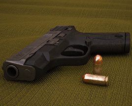 Smith & Wesson M&P SHIELD 9 3D model