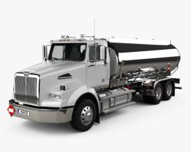 Western Star 4800 Tanker Truck 2008 3D model