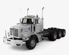 Western Star 6900 Tractor Truck 2008 3D model