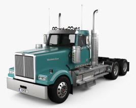 Western Star 4900 SF EX Day Cab Tractor Truck 2015 3D model