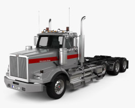 Western Star 4900 SB Day Cab Tractor Truck 2008 3D model