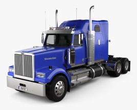 Western Star 4900 SF Sleeper Cab Tractor Truck 2008 3D model