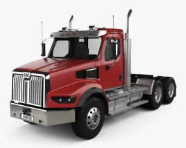 Western Star 49X SB Day Cab Tractor Truck 2020 3D model