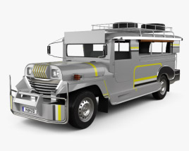 Willys Jeepney Philippines 2012 3D model