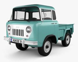 Willys Jeep FC-150 Forward Control 1957 3D model