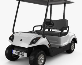 Yamaha Golf Car Fleet 2012 3D model