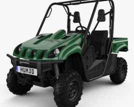 Yamaha Rhino 700 2013 3D model