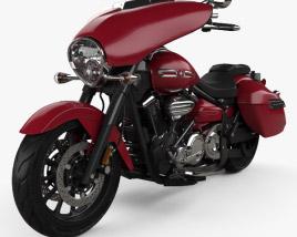Yamaha Stratoliner Deluxe 2013 3D model
