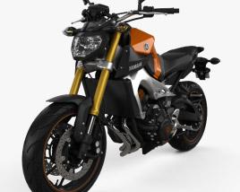 Yamaha MT-09 2014 3D model