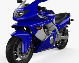 Yamaha YZF600R Thundercat 1994 3D model