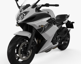Yamaha XJ6 Diversion F 2014 3D model