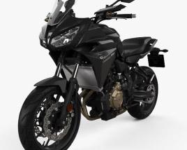 Yamaha MT-07 Tracer 2016 3D model