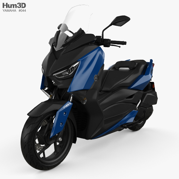 Yamaha X-MAX 300 2018 3D model - Hum3D