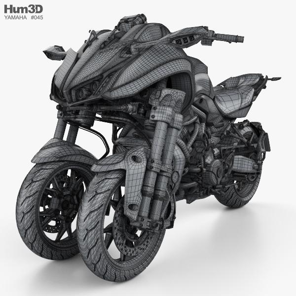 Yamaha Niken 2018 3d Model Vehicles On Hum3d