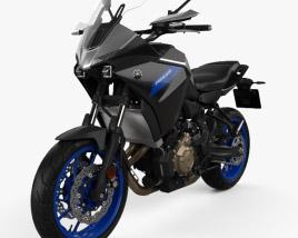 Yamaha Tracer 700 2020 3D model