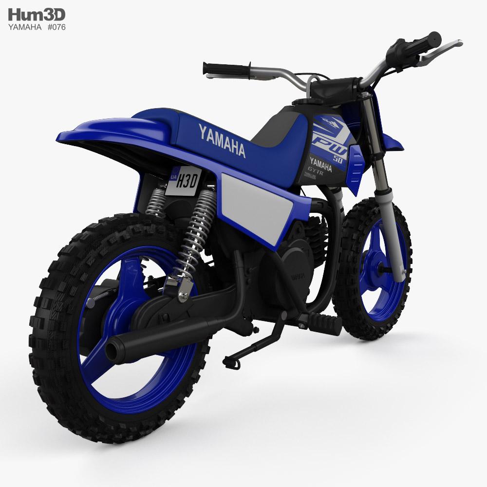 Yamaha PW50 2020 3d model