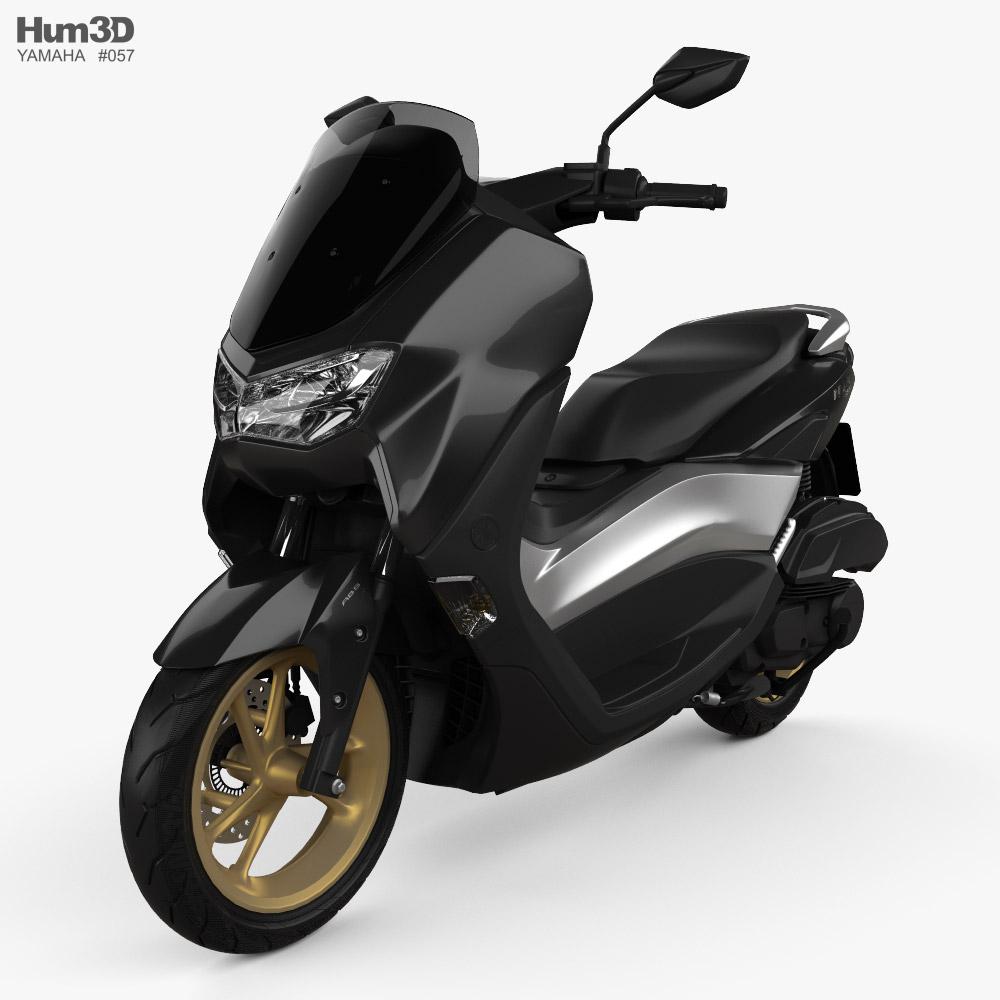 Yamaha NMAX 155 2020 3d model