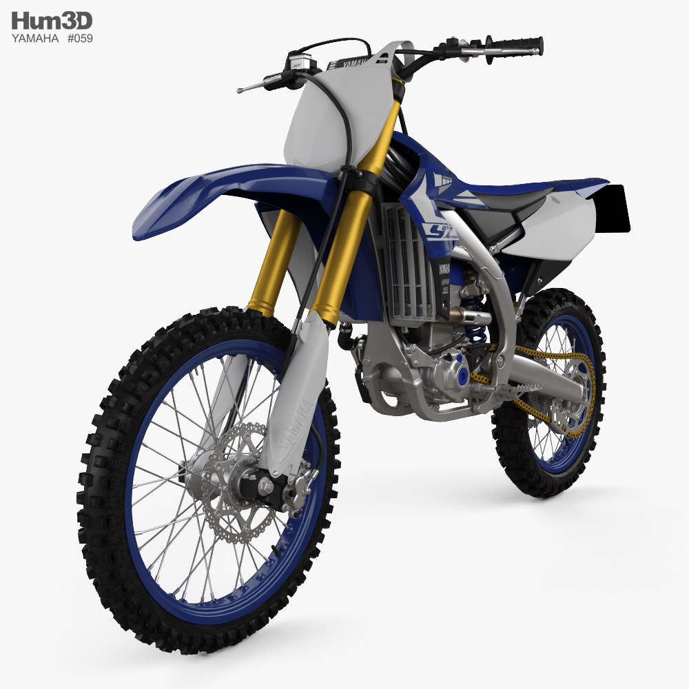 Yamaha YZ450F 2020 3d model
