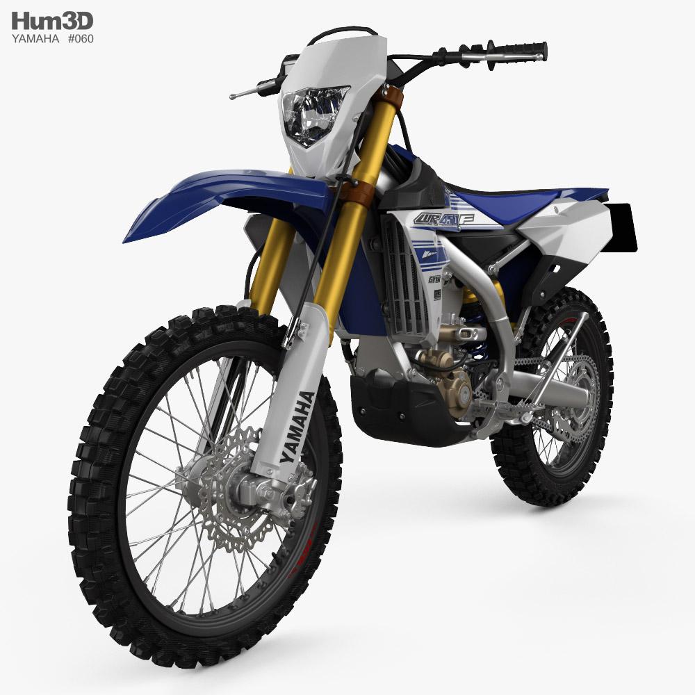 Yamaha WR450F 2016 3d model