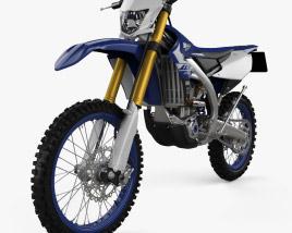Yamaha WR450F 2020 3D model