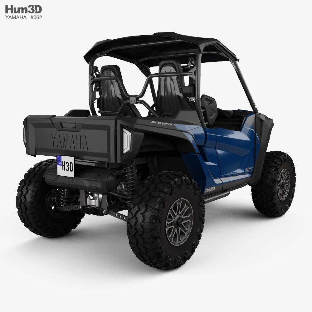 Yamaha Wolverine RMAX2 1000 2021 3d model
