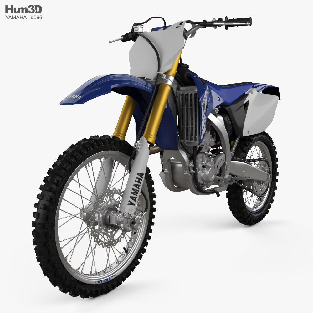 Yamaha YZ450F 2007 3d model