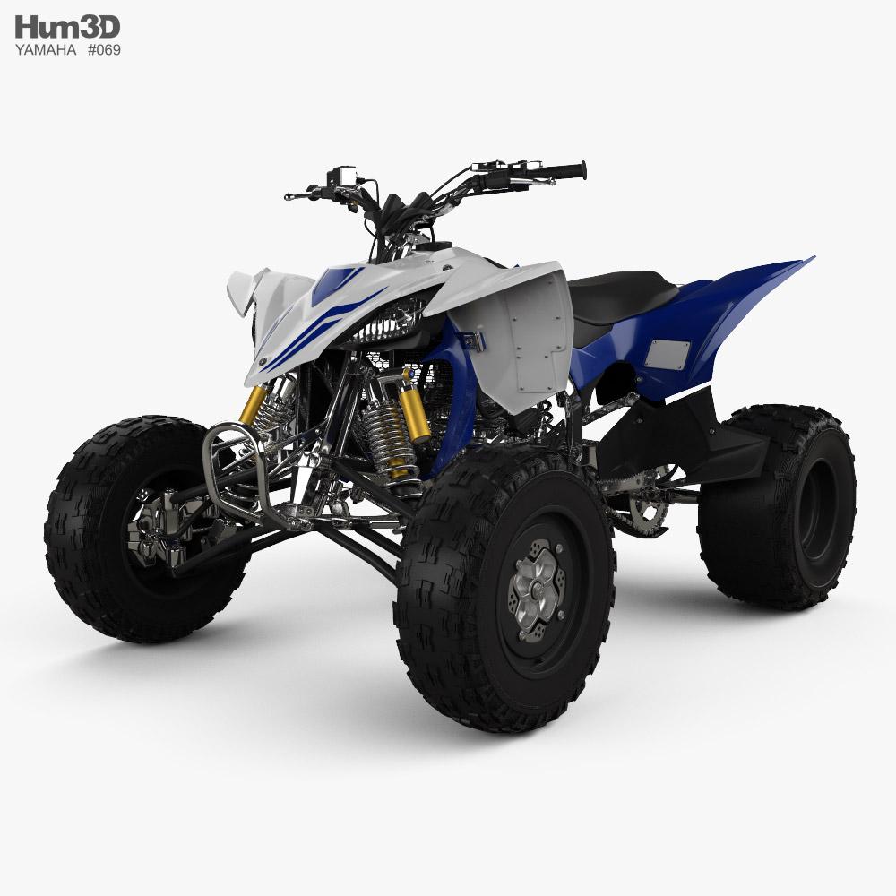 Yamaha YZF-450 2020 3d model