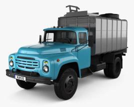 ZIL 130 Garbage Truck 1964 3D model